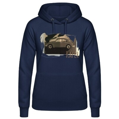 VW Käfer Frauen Hoodie - No. 123urban
