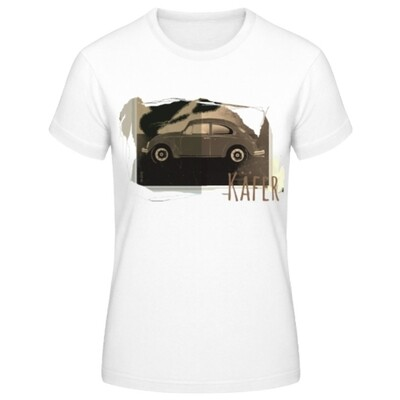 VW Käfer Frauen T-Shirt - No. 123urban