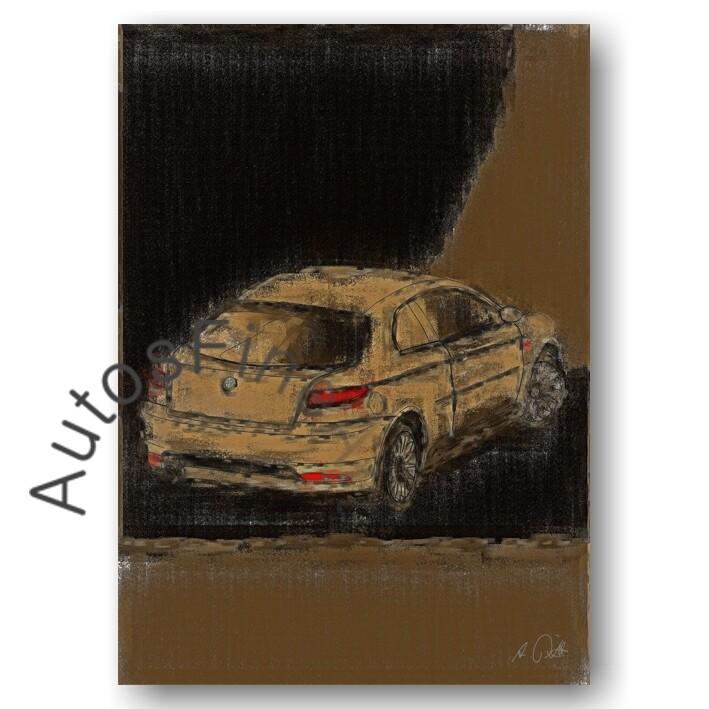 Alfa Romeo GT - HD Aluminiumbild No. 15aClassic