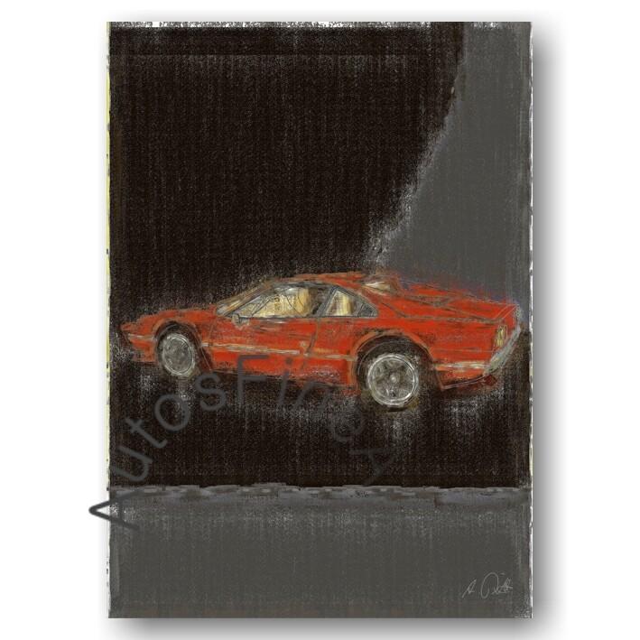 Ferrari 308 GTB - Poster No. 18aClassic