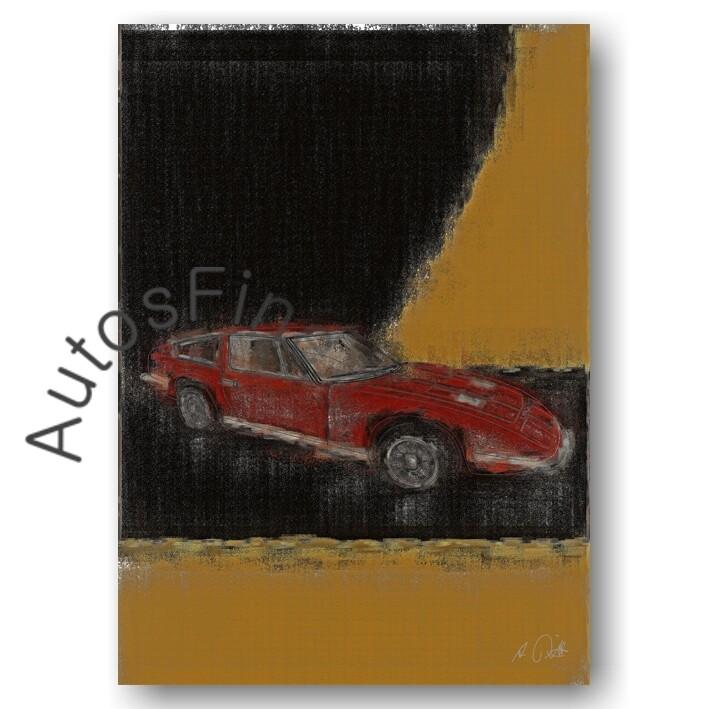 Maserati Indy - Poster No. 21aClassic
