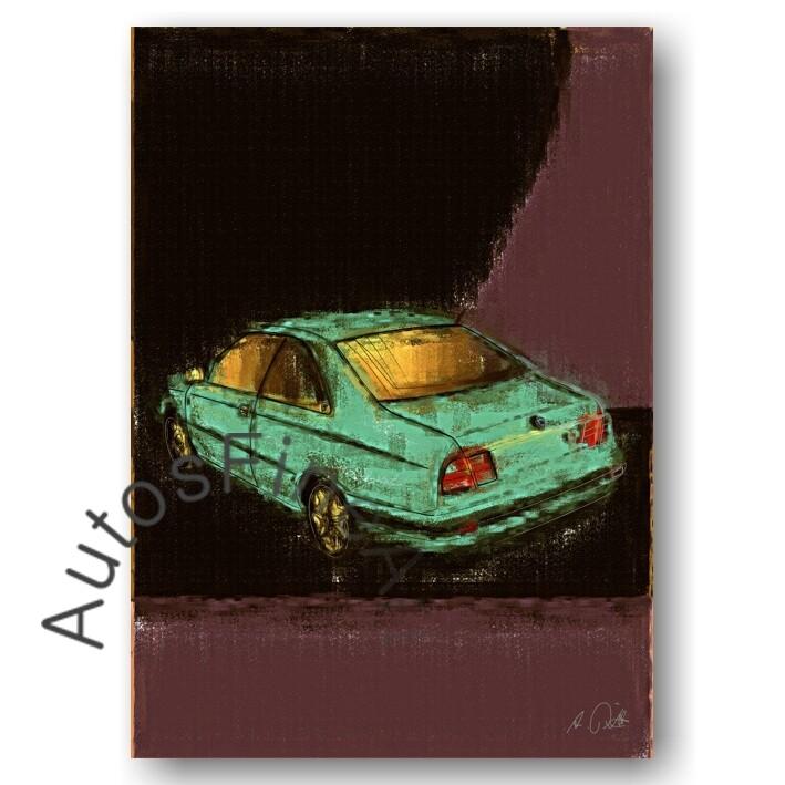 Lancia Kappa Coupé - Poster No. 22aClassic