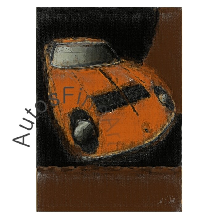 Lamborghini Miura - Poster No. 23aClassic