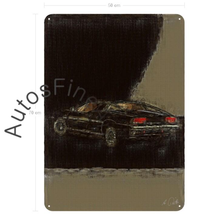 Maserati Merak - Blechbild No. 25aClassic