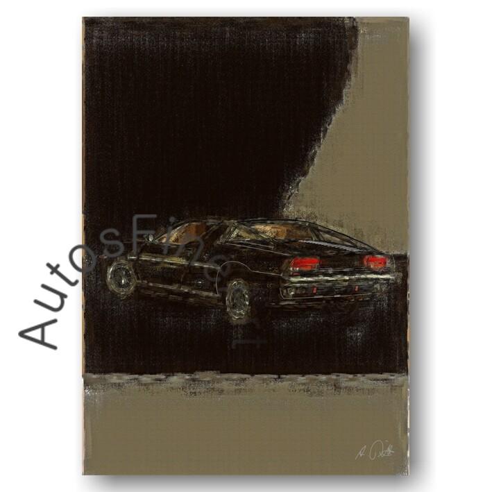 Maserati Merak - Poster No. 25aClassic