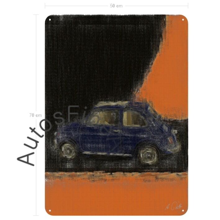 Fiat 500 - Blechbild No. 27aClassic
