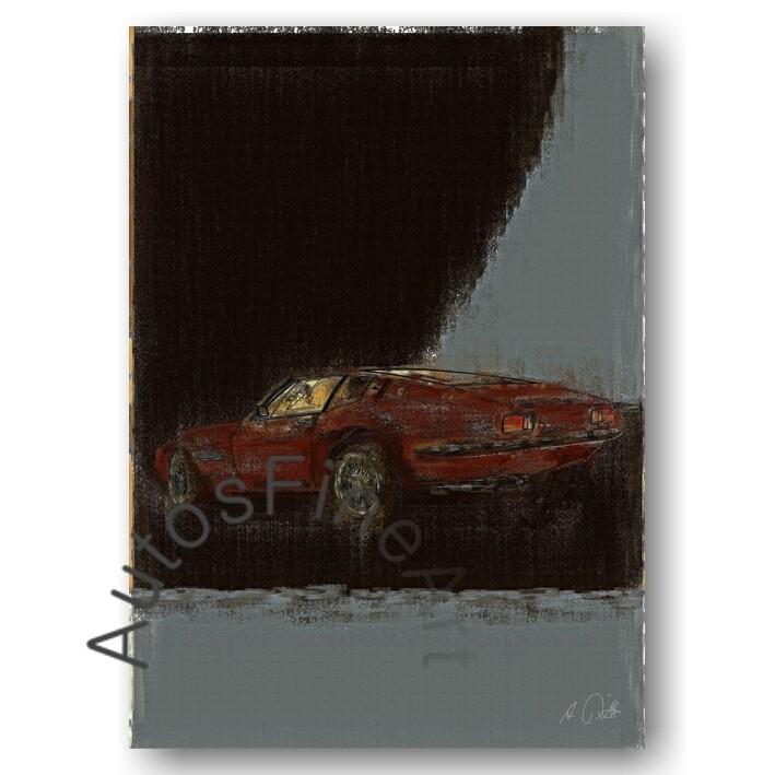 Maserati Ghibli - Poster No. 28aClassic