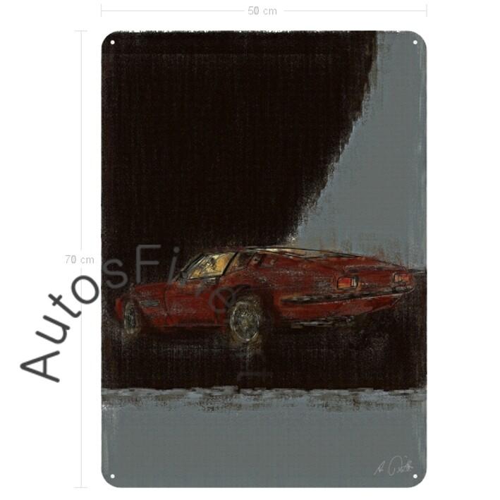 Maserati Ghibli - Blechbild No. 28aClassic