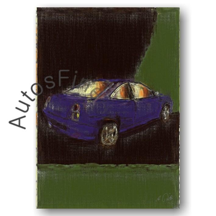 Fiat Coupé - Poster No. 32aClassic