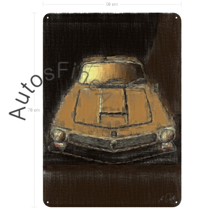 Iso Rivolta 300 - Blechbild No. 38aClassic