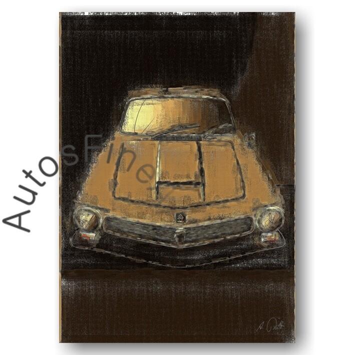 Iso Rivolta 300 - Poster No. 38aClassic