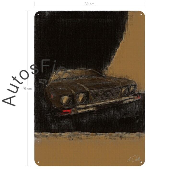 De Tomaso Deauville - Blechbild No. 39aClassic