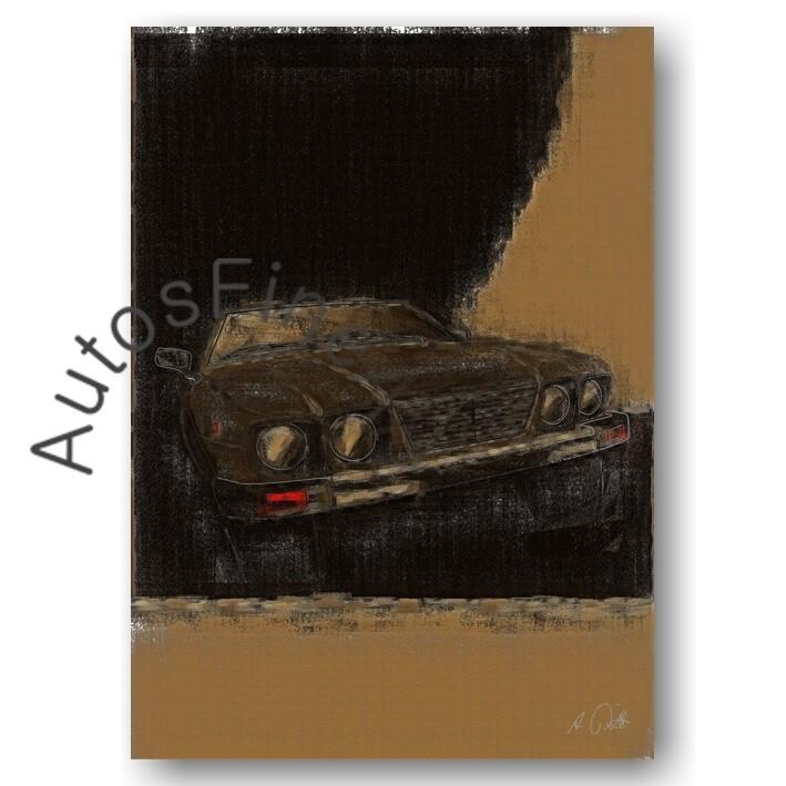 De Tomaso Deauville - HD Aluminiumbild No. 39aClassic