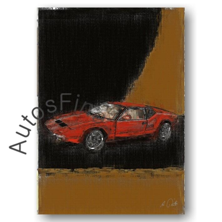 De Tomaso Pantera - HD Aluminiumbild No. 46aClassic