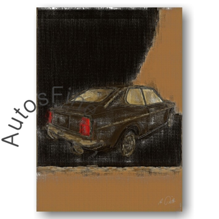 Fiat 128 Sport Coupé - Poster No. 48aClassic