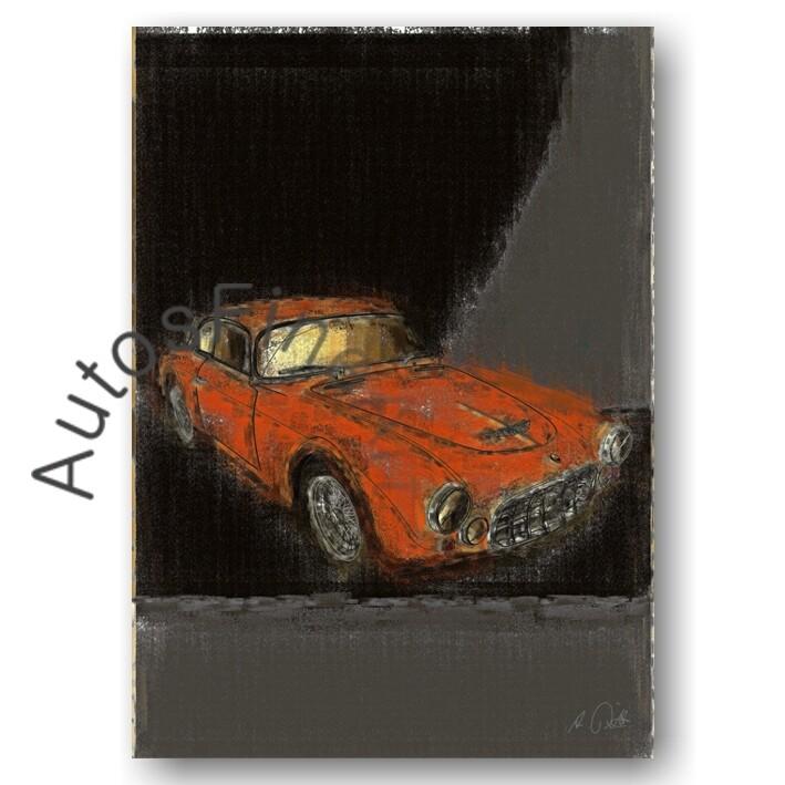 Maserati A6G/54 2000 FRUA - Poster No. 51aClassic