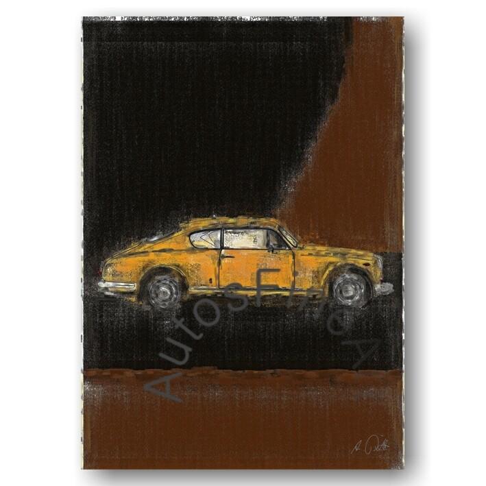 Lancia Aurelia B20 GT -Poster No. 53aClassic