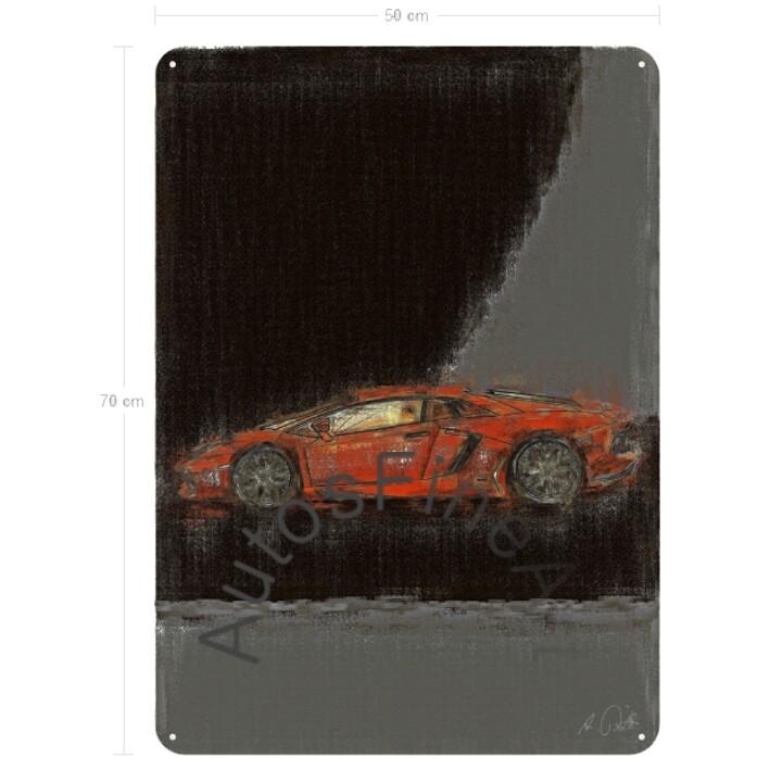 Lamborghini Aventador - Blechbild No. 55aClassic