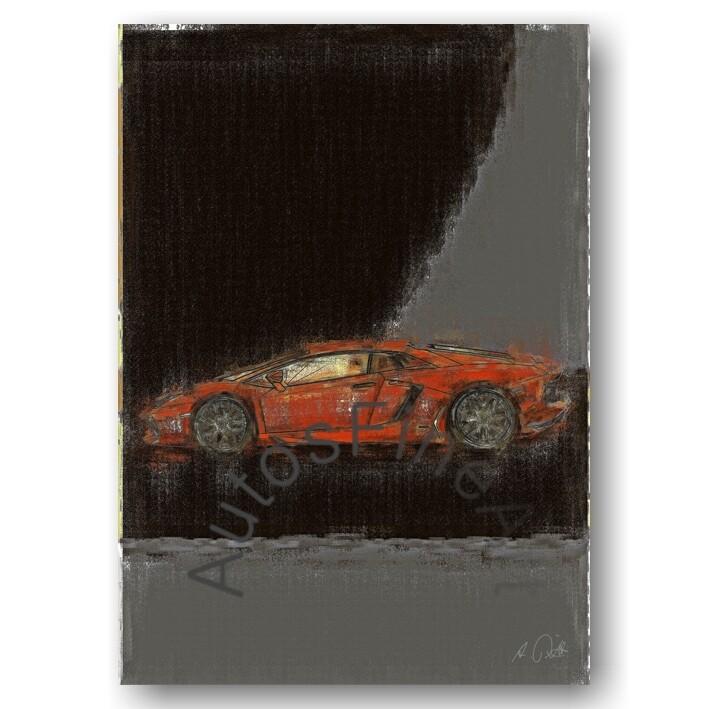 Lamborghini Aventador - Poster No. 55aClassic