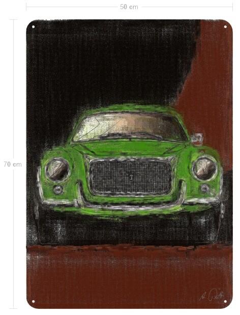 Daina SL Sport Berlinetta Boano - Blechbild No. 59aClassic