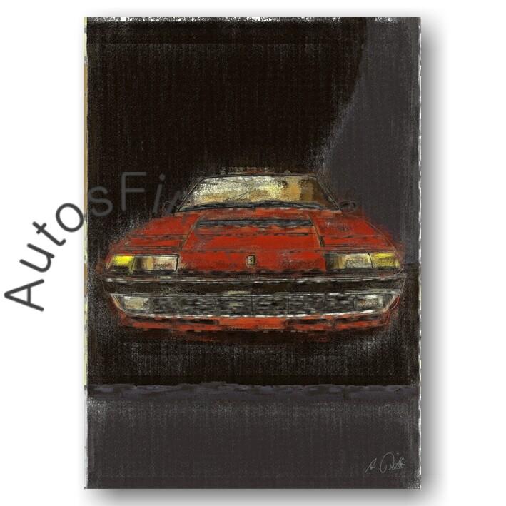 Ferrari 400i - HD Aluminiumbild No. 65aClassic