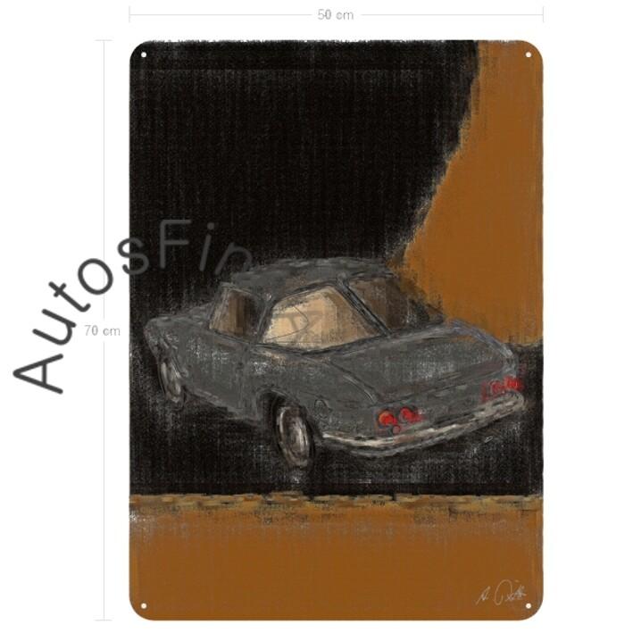 "Osca 1600 ""Fissore"" - Blechbild No. 64aClassic"