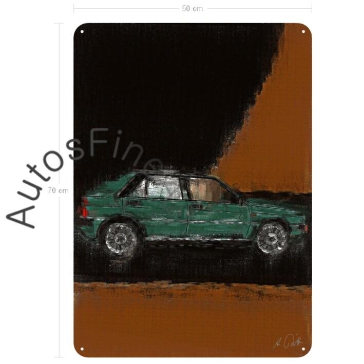 Lancia Delta HF 4WD - Blechbild No. 67aClassic