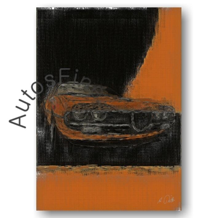 Alfa Romeo Montreal - Poster No. 69classic