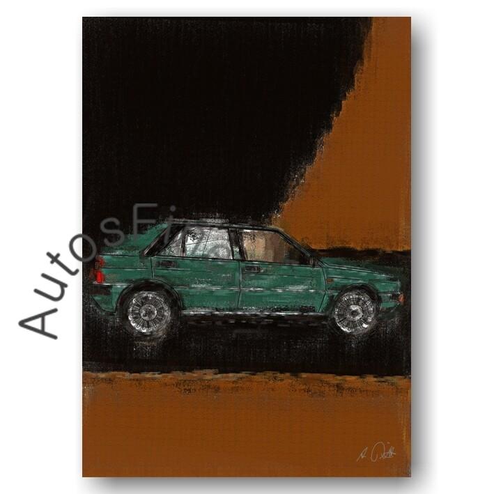 Lancia Delta HF 4WD - Poster No. 67aClassic