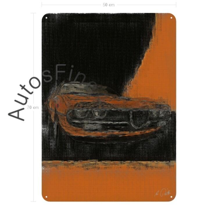 Alfa Romeo Montreal - Blechbild No. 69classic