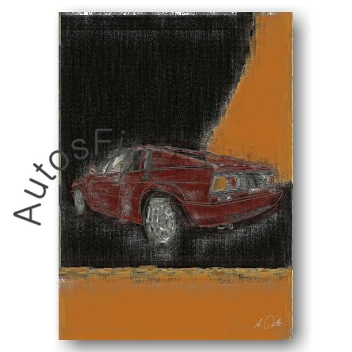 Lancia Beta Monte Carlo - Poster No. 73aClassic