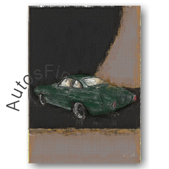 Fiat 8V Ghia Supersonic - Poster No. 72aClassic