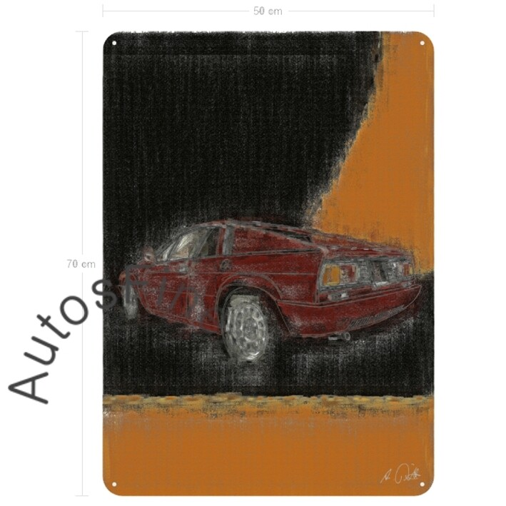 Lancia Beta Monte Carlo - Blechbild No. 73aClassic