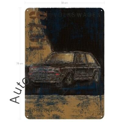 VW Golf GTI - Blechbild No. 136aClassic