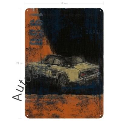 Ford Capri - Blechbild No. 128aClassic