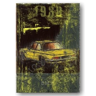 BMW 3.0 CSI - Poster No. 125Plate