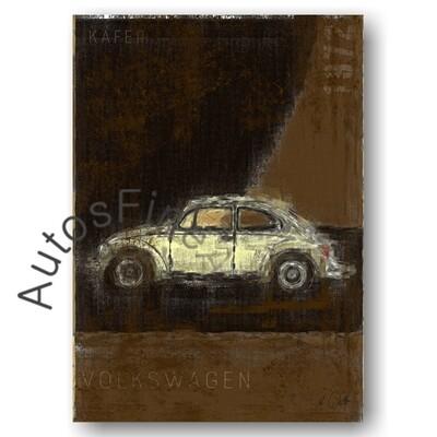 VW Käfer - Poster No. 123Plate