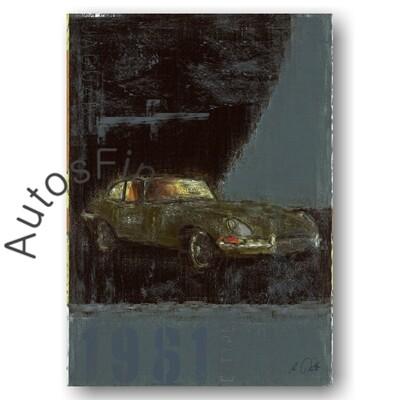 Jaguar E-Type - Poster No. 117Plate
