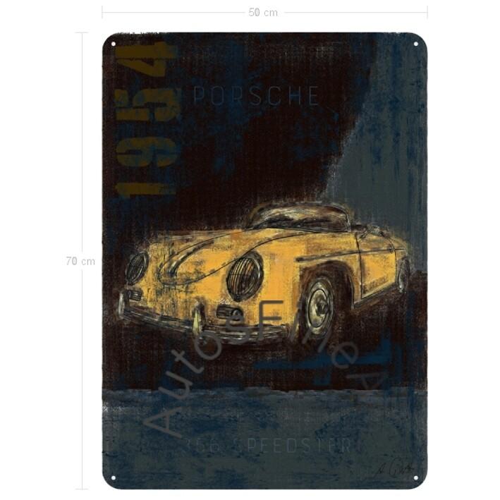 Porsche 356 Speedster - Blechbild No. 115Plate