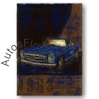 Mercedes 280 SL Pagode - Poster No. 113Plate