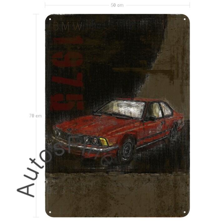 BMW 628 CSI - Blechbild No. 112Plate