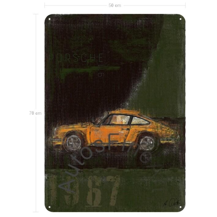 Porsche 911 T - Blechbild No. 111Plate