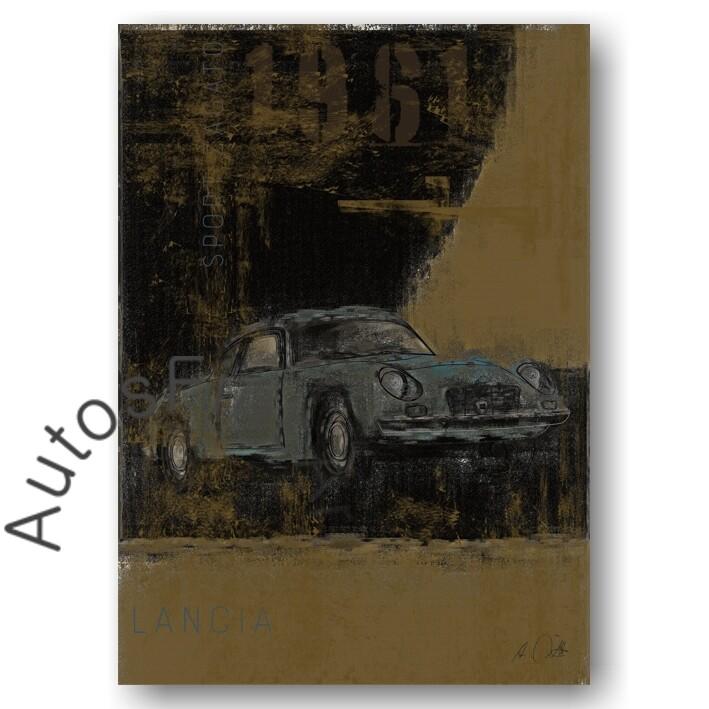 Lancia Appia Sport Zagato - Poster No. 110Plate