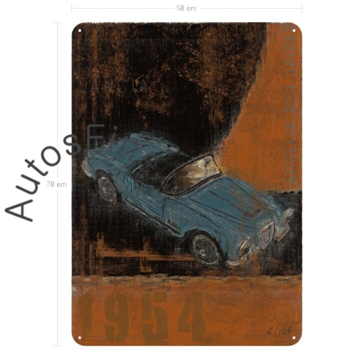 Lancia Aurelia B24 Spider - Blechbild No. 107Plate