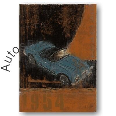 Lancia Aurelia B24 Spider - Poster No. 107Plate