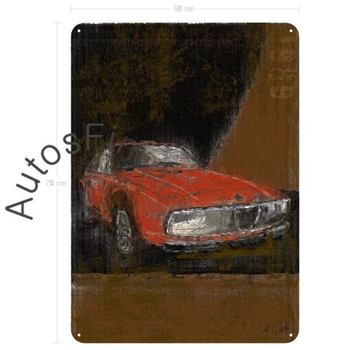 Alfa Romeo Junior Zagato - Blechbild No. 103Plate