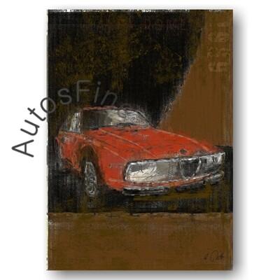 Alfa Romeo Junior Zagato - HD Aluminiumbild No. 103Plate