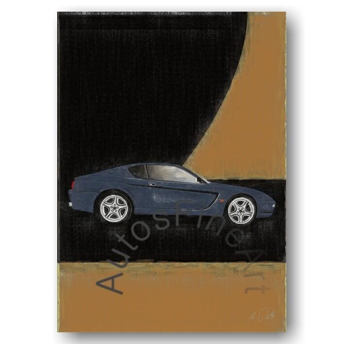 Ferrari 456 - HD Aluminiumbild No. 101aClassic