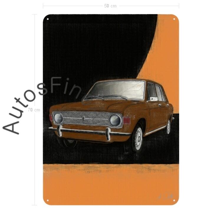 Fiat 128 - Blechbild No. 100aClassic