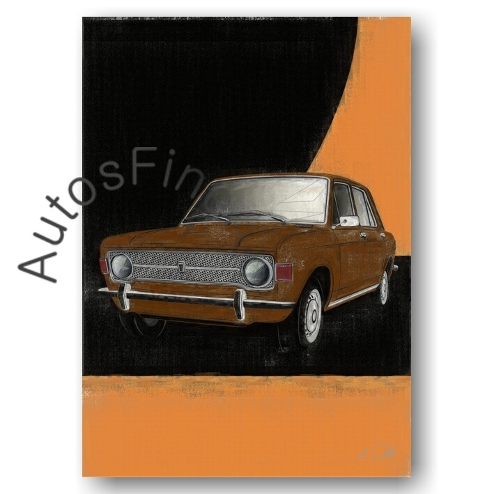 Fiat 128 - Poster No. 100aClassic